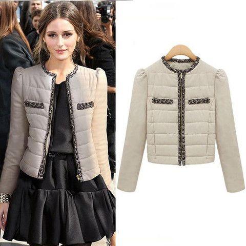 Olivia Palermo Beige Short Jacket | Celebrity Jackets