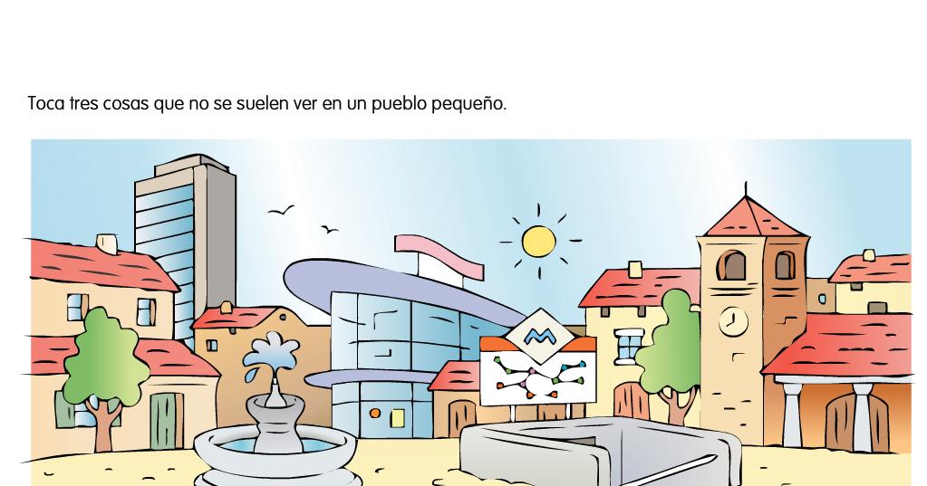 El Blog De Segundo La Localidad Ii Pueblo Actividades Interactivas Ciencias Sociales