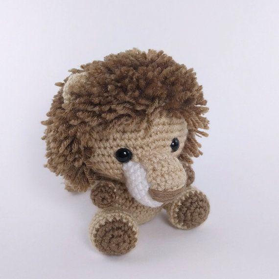 Pattern Crochet Lion Pattern Amigurumi Lion Pattern Crocheted