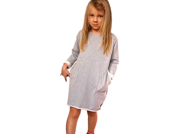 c3160e8e1f Bawełniana Dresowa Sukienka Bombka w xdresse na DaWanda.com  niezchinzpasji