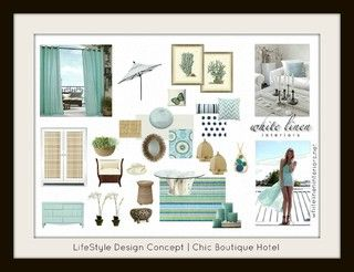 Decor Idea Board by Ana Damaris Then of White Linen Interiors, LLC.