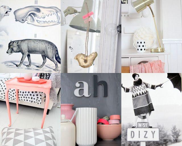 Polka Dot, Black an white, Pink, Neutral, Grey