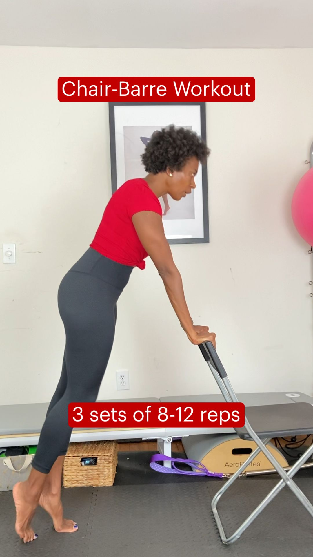 Chair-Barre Workout