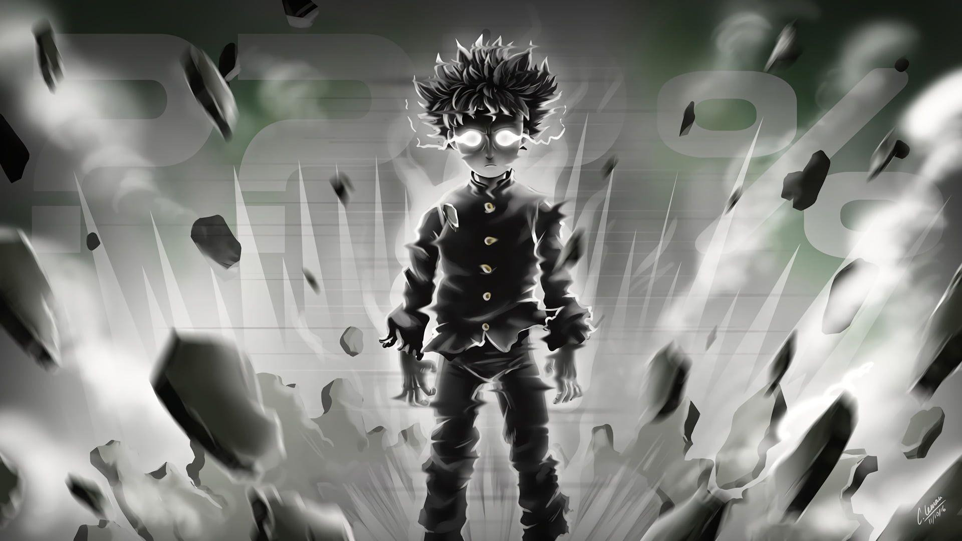 Mob Psycho 100 digital wallpaper Anime Mob Psycho 100