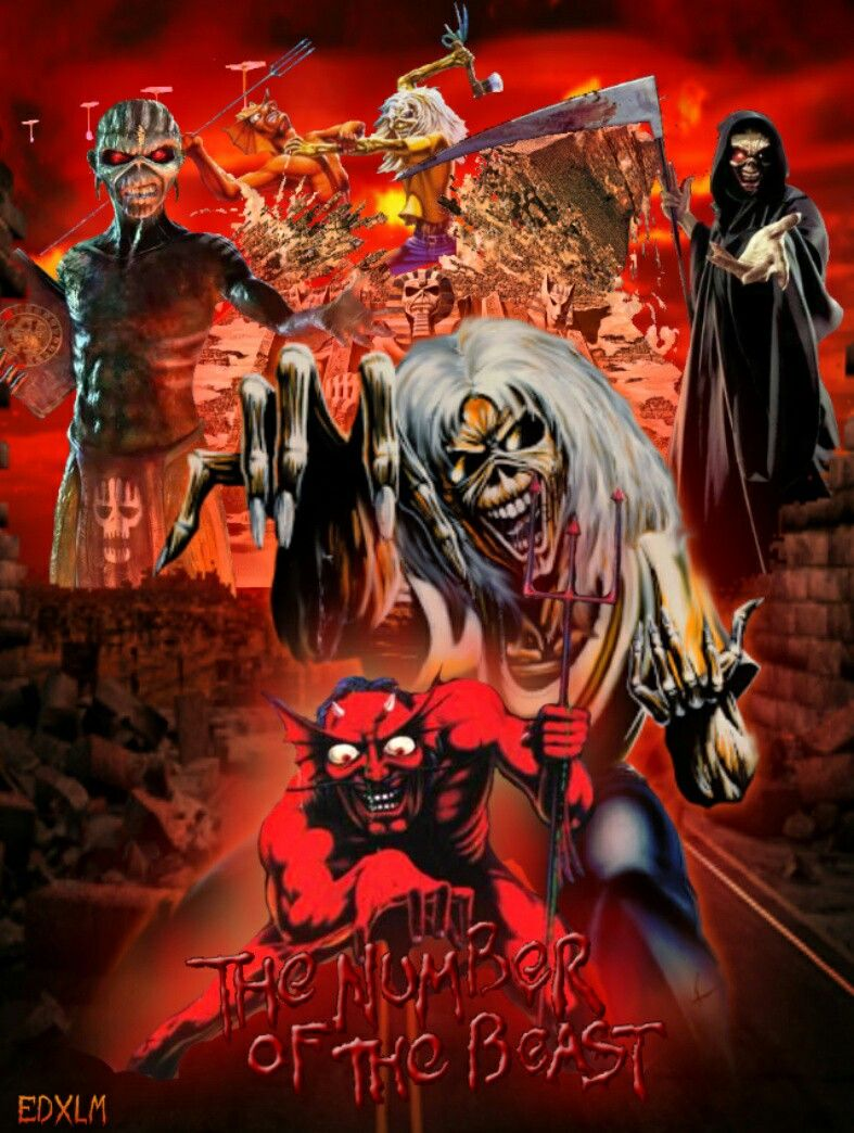 Iron Maiden The Number Of The Beast Iron Maiden Posters Iron