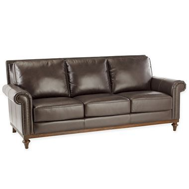 Chris Madden Lombard Leather Sofas Jcpenney Leather Sofa Home Furniture
