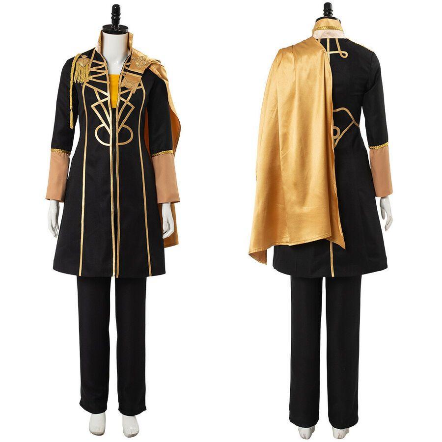 In Stock Fire Emblem:Three Houses Claude von Regan Fancy Battle Cosplay Costume