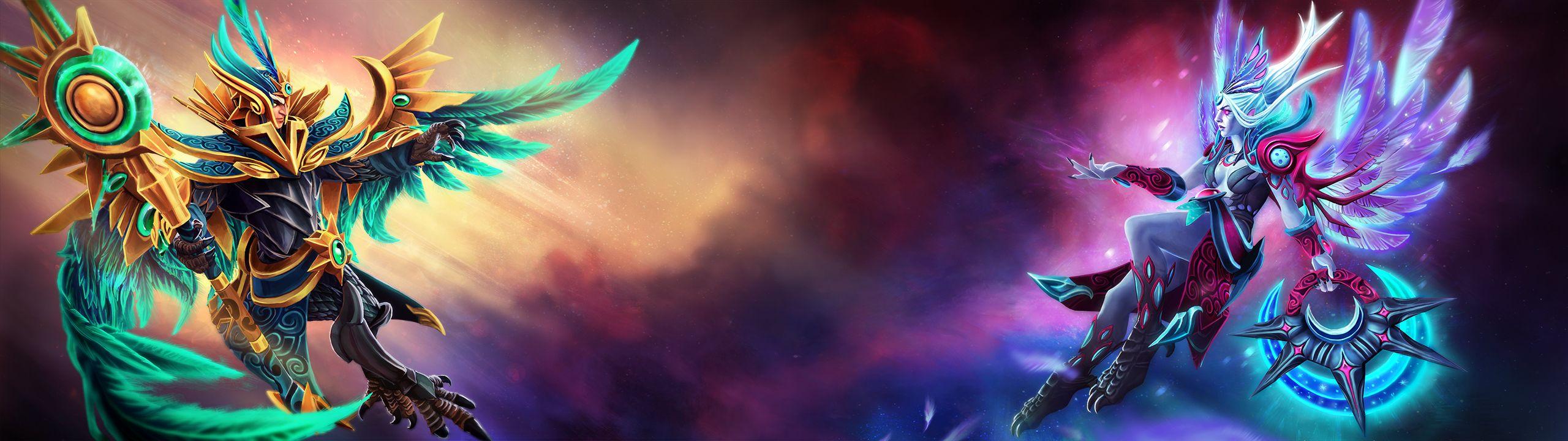 Vengeful Spirit and Skywrath Mage Wallpaper, more http