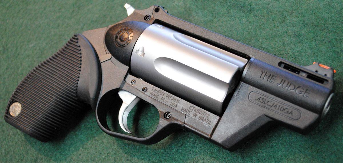 The Taurus Judge Polymer  45LC/ 410 Gauge! My new toy!!! | Guns