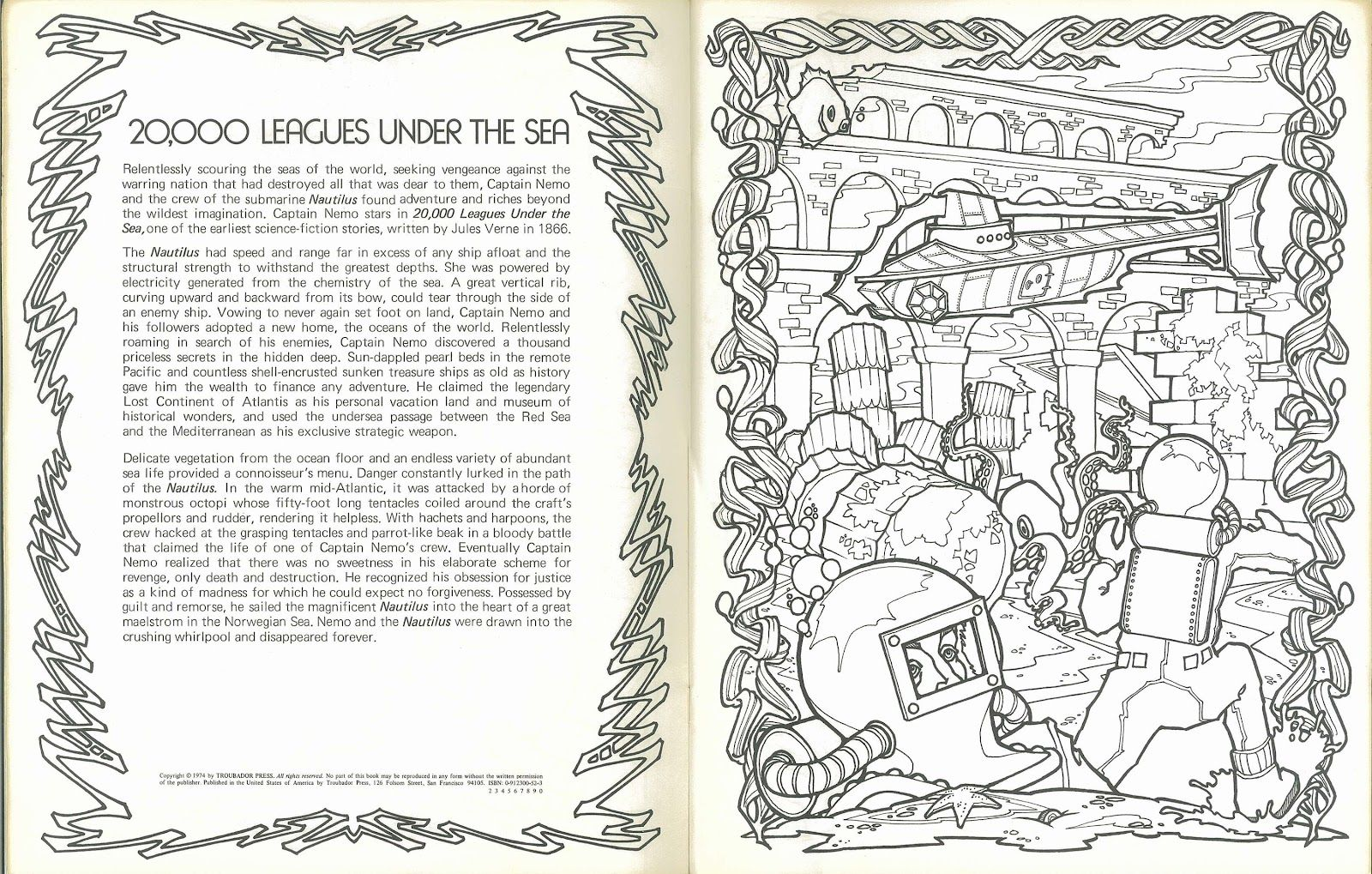 Science Fiction Anthology Coloring Book 1 Of 2 Science Fiction Coloring Books Coloring Pages
