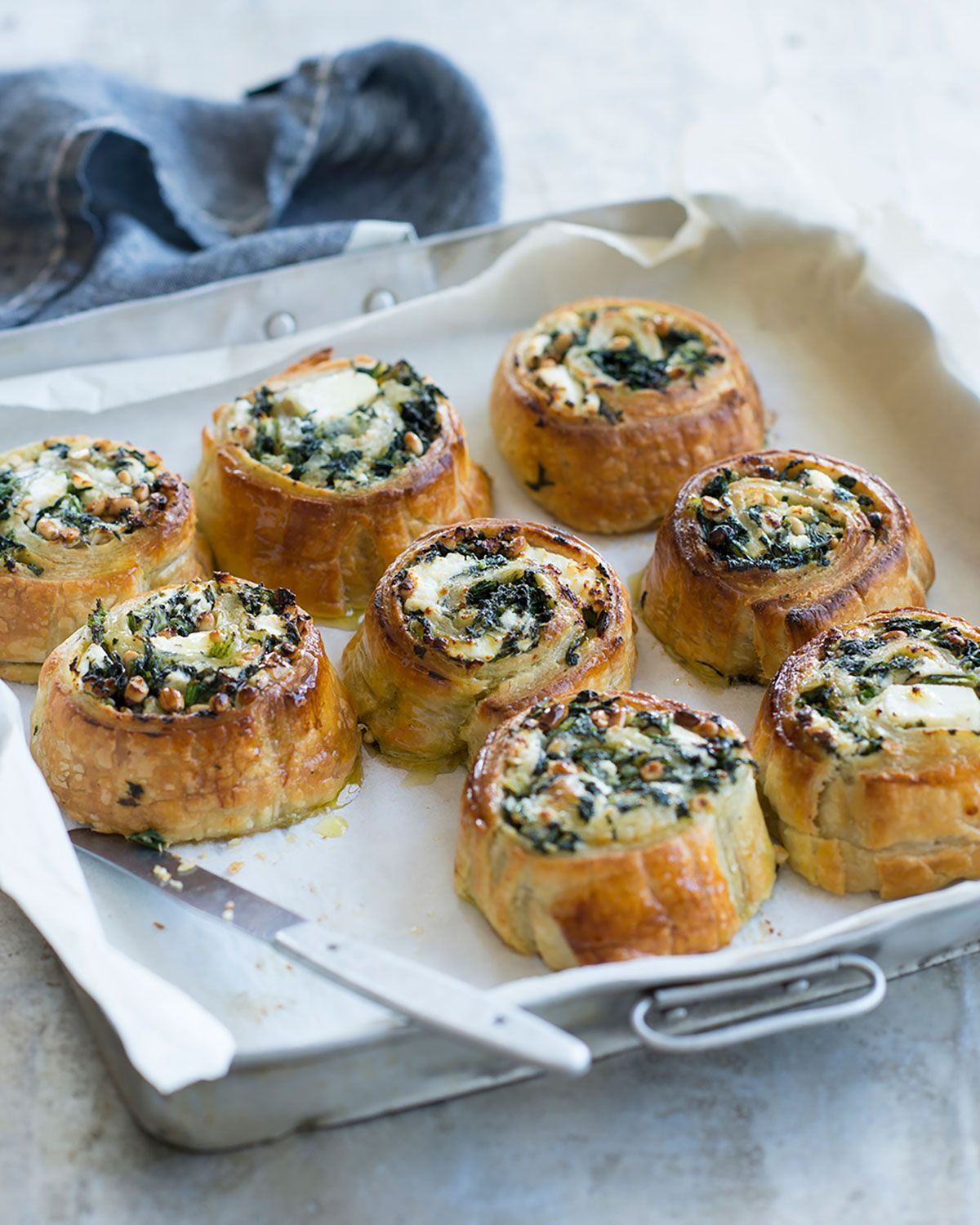 Spinach And Pine Nut Rolls: When I Was Growing Up, These Vegetable Rolls Were Another