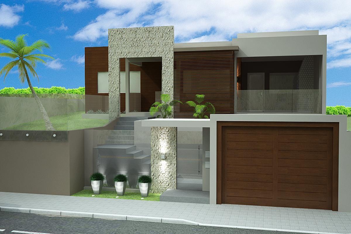 60 modelos de muros residenciais fotos e dicas : 60 Modelos de muros residenciais ? Fotos e dicas Muros ...