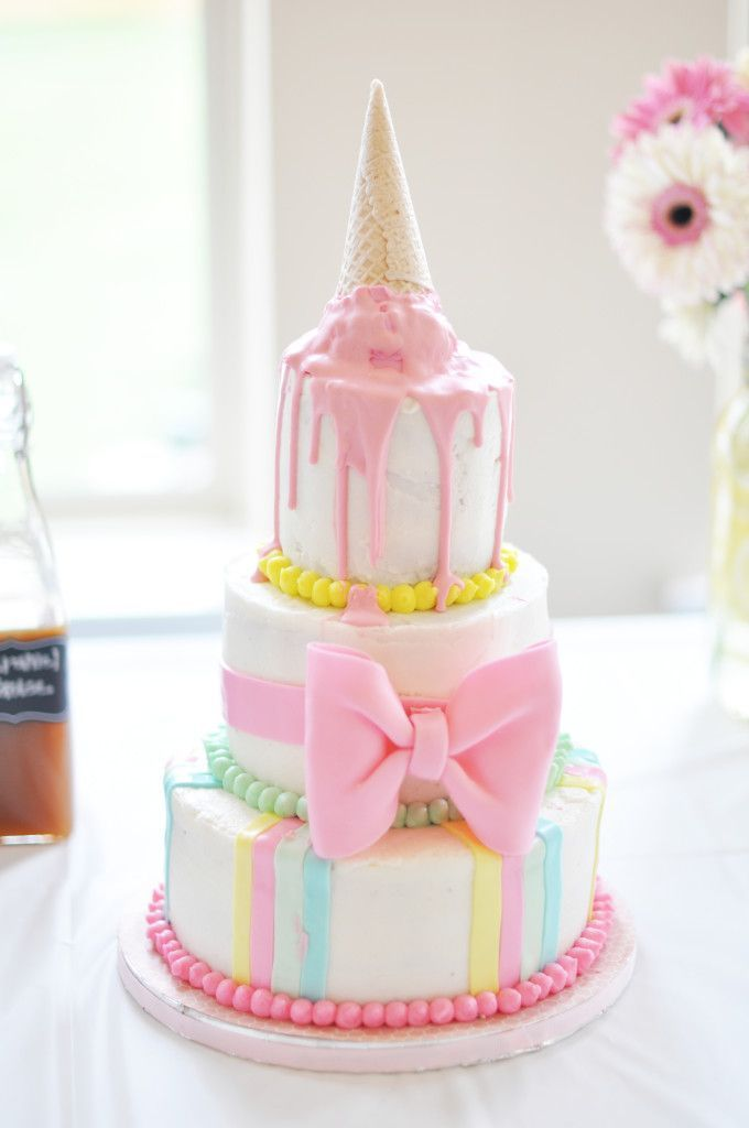 Perfect Summertime Kids Party Theme - Ice Cream Social