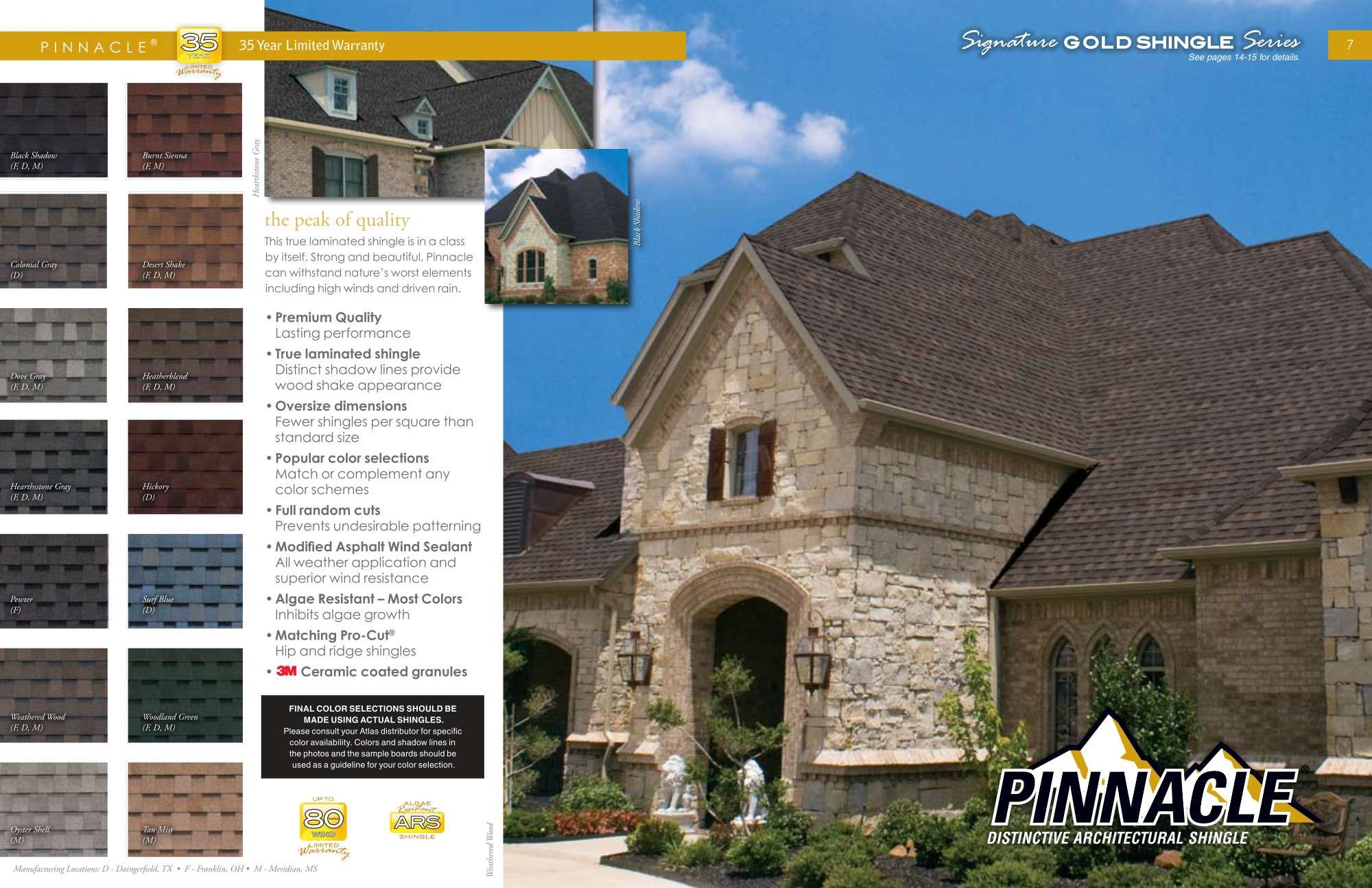Best Www Atlasroofing Com Pinnacle® Roofing Shingles 400 x 300