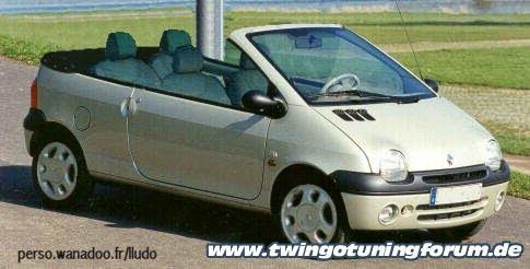 Cabriolet Twingo Tuning