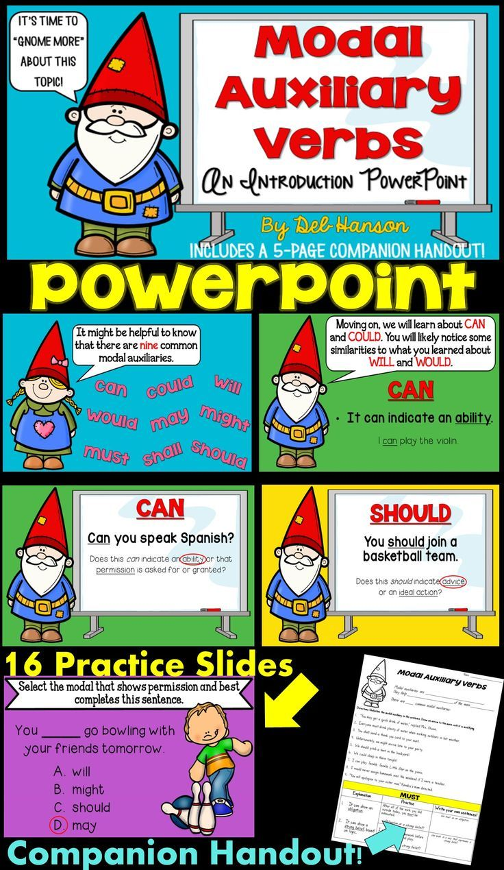 Modal auxiliary verbs powerpoint english writing skills