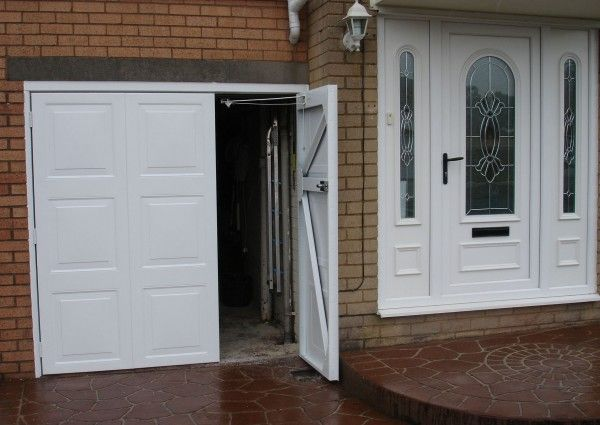 Choose From A Wide Range Of Side Hinged Garage Doors From Leading