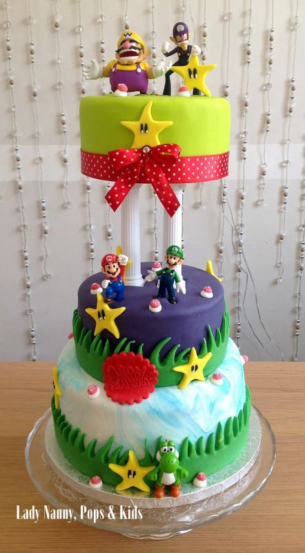 Mario Luigi Cie by Lady Nanny Les Sweet Table by Lady Nanny