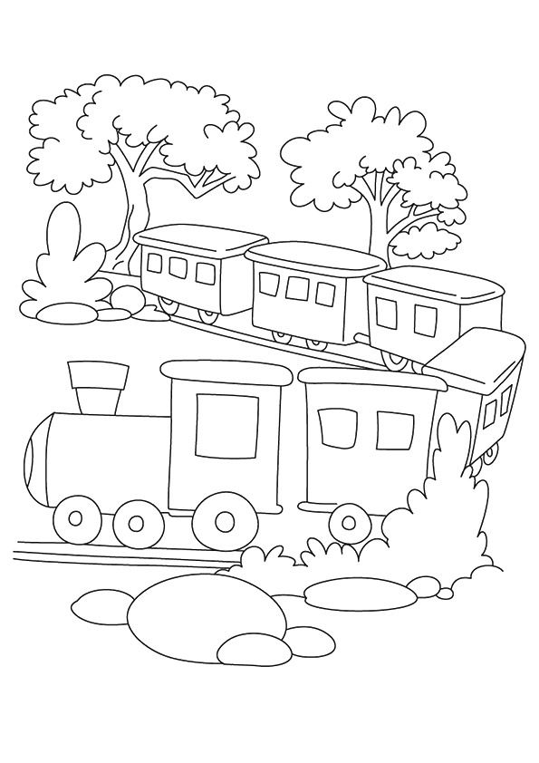 free train coloring page printable train coloring pages for kids
