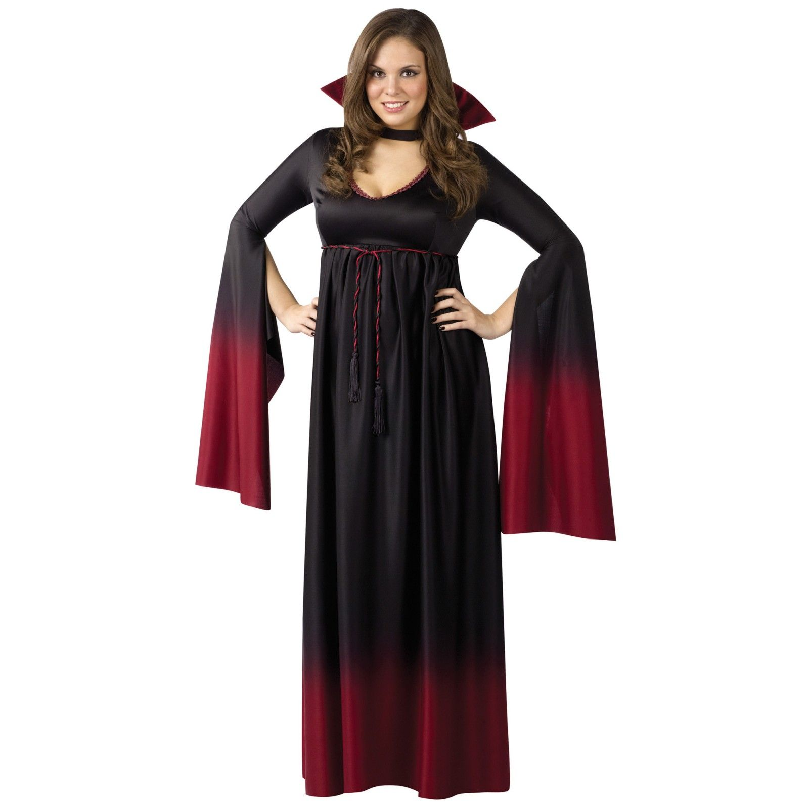 Blood Vampiress Plus Size Vampire Costume