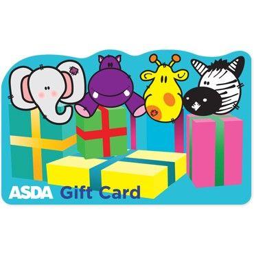 ASDA Gift Cards - Happy Birthday - Kids Declan\u0027s 1st birthday