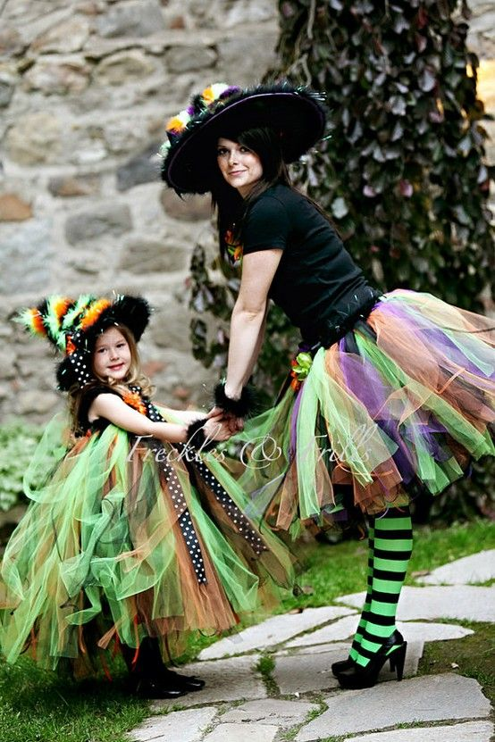 Muchas ideas para Halloween! Halloween costumes, Costumes and - mother daughter halloween costume ideas