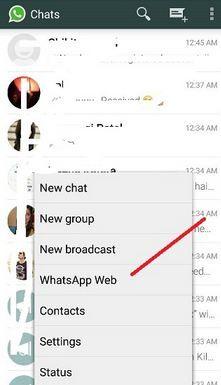 WhatsApp Web für PC (Windows 7/8 / 8.1) und Mac wie man