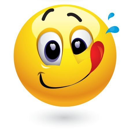 lick Smiley free emoticon