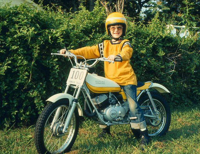 1974 06 Chad On His Yamaha Trials 80cc In Dpbson Nc 007 Dirt Bikes For Kids Yamaha Trial Bike