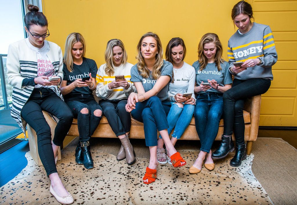 Whitney Wolfe helped found Tinder, but left after a relationship soured.  With Bumble, she is fighting a culture of crotch shots and pickup artists.