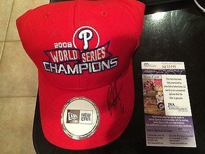 2008 Phillies World Series Champions Signed By Ws Mvp Ryan Howard