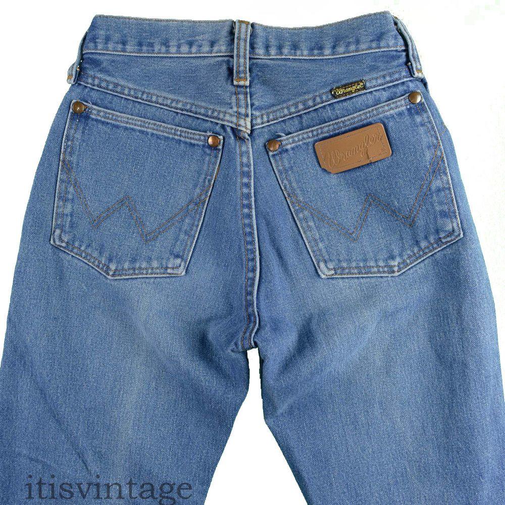 89bbb68b4268 Wrangler Jeans Vintage Western 13MWZ 1980's Denim Scovill Zip Straight Leg  Sz 3 #Wrangler #itisvintage #denim #jeans #ripped #vintage #western