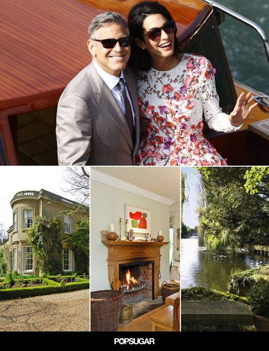 Peek inside George Clooney and Amal Alamuddin's newlywed home!
