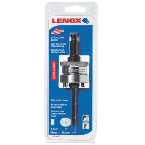 Lenox Tools 1779772 2l Snap Back Arbor With 4 1 4 Inch Pilot Drill Bit For Hole Saws With Images Lenox Tools Hole Saws Lenox