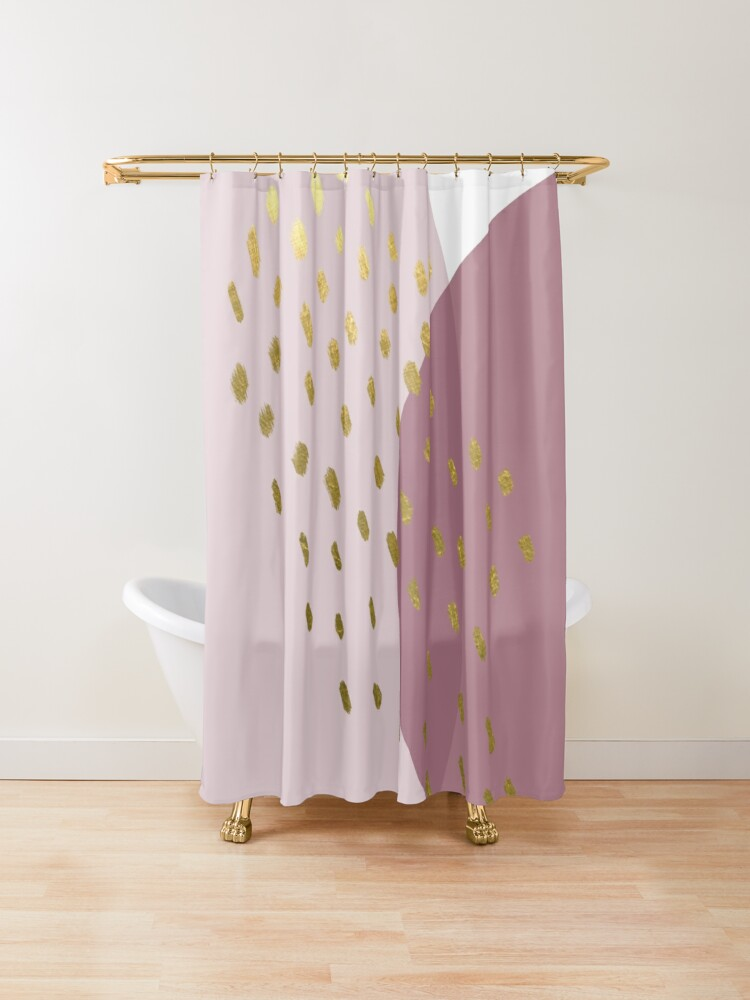 Pin On Bathroom Decor Modern Colorful Shower Curtain