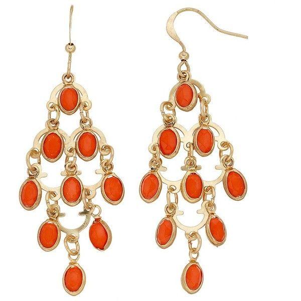 Orange Oval Nickel Free Kite Earrings ($9.10) ❤ liked on Polyvore featuring jewelry, earrings, pink, fish hook jewelry, nickel free earrings, earring jewelry, pink jewelry and nickel free jewelry