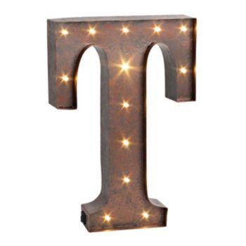 Letter \'\'T\'\' LED Lighted Wall Decor | Wedding | Pinterest | Letter ...
