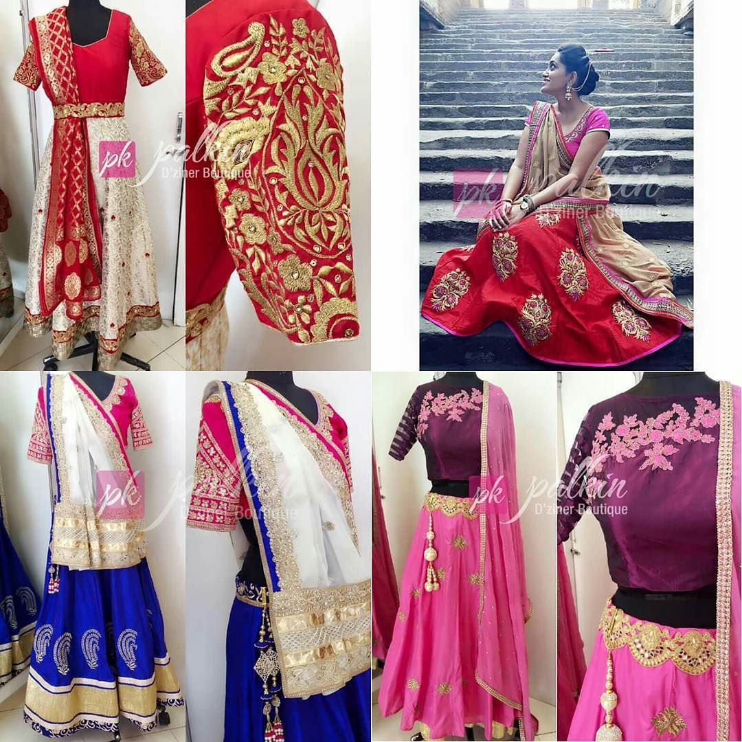 Looking for designer wear for your special occasions... Here comes the best choice @palkindziner Contact today and choose the best one for you. by barodamirror