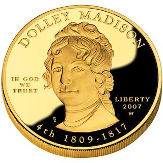 Us Gold Coins Dolley Madison First Spouse 10 Dollars Gold Coin Gold Coins Coins Madison