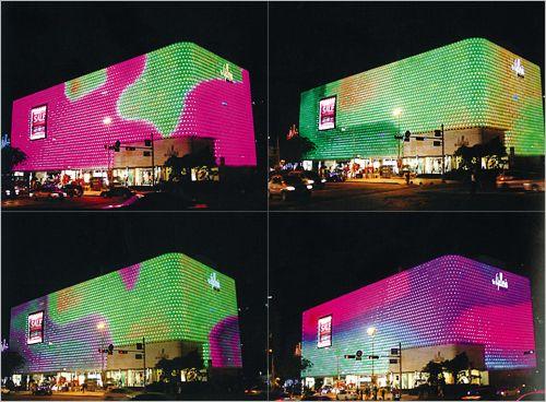 S Korea Famous Buildings Become Branding Tools Interactive Architecture Facade Architecture Famous Buildings