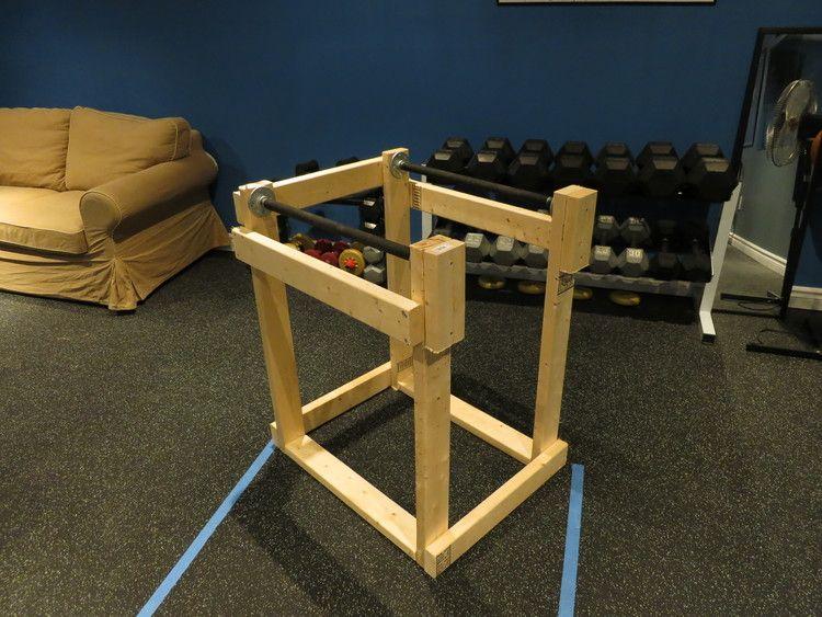 Homemade Dip Station Tyler Robbins Fitness Diy Home Gym Home Made Gym Homemade Gym Equipment