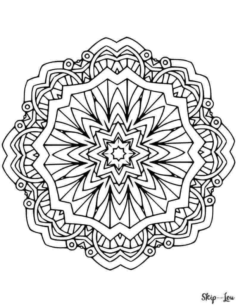 Large Mandala Coloring Pages Coloring Page Mandalag For Kids Colouring Pages Printable Geometric Coloring Pages Mandala Coloring Pages Abstract Coloring Pages