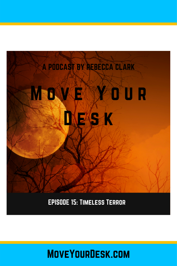 It's Halloween and a perfect time to share the work of pivotal nudger Anthony Rotolo. He's the creator of three different podcasts and one of them is focused on bringing icons of TV terror to the forefront of memory …for those that love the genre. Check out his podcasts and learn why he is a pivotal nudger. #podcast #moveyourdesk #rebeccaclark #successhabits #tvterrorpodcast #thelearningcirclepodcast #thedesignguypodcast #whogoesthere #doyourbestwork