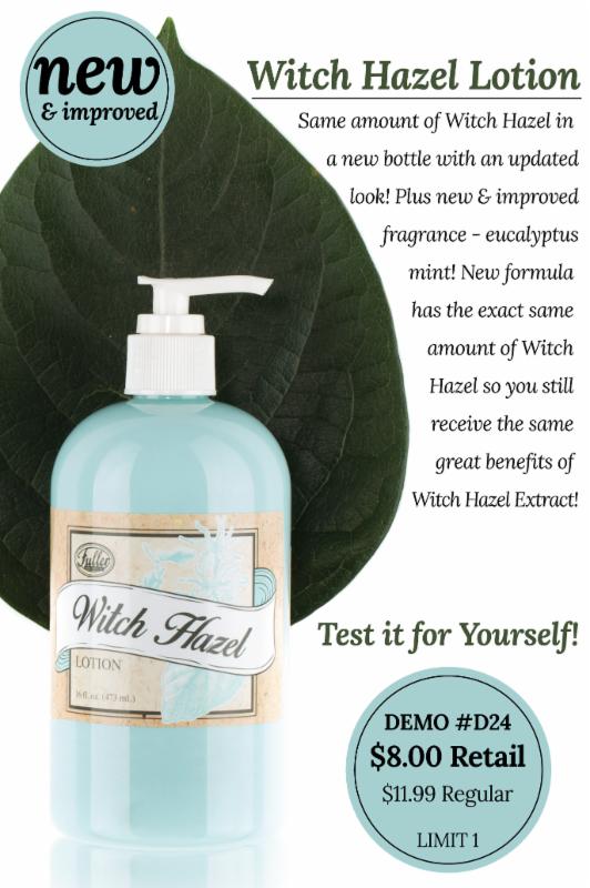 New & Improved Witch Hazel Lotion! New Eucalyptus Scent #Witchhazel #CurewithWitchhazel #Eucalyptus #Lotion https://www.fullerdirect.com/10000828