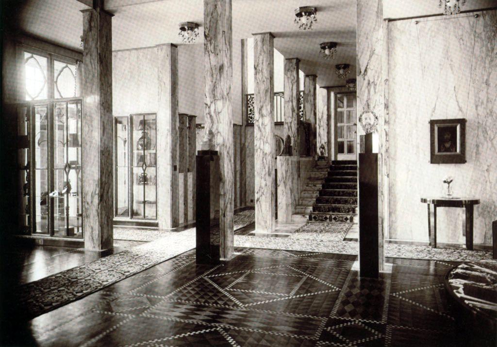 Josef hoffmann palais stoclet bruxelles 1905 11 for Architecture interieur bruxelles