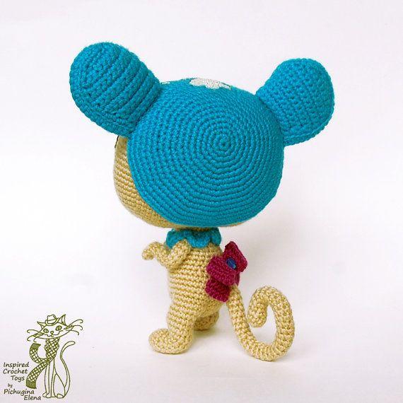 Amigurumi Pattern. Crochet Littlest Pet Shop Sweet Brown