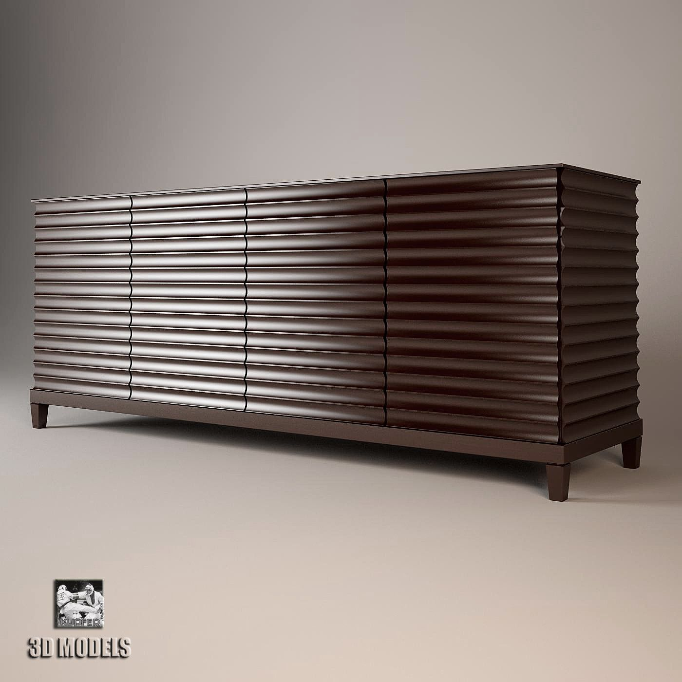 Barbara Barry Fluted Low Cabinet   Google Search