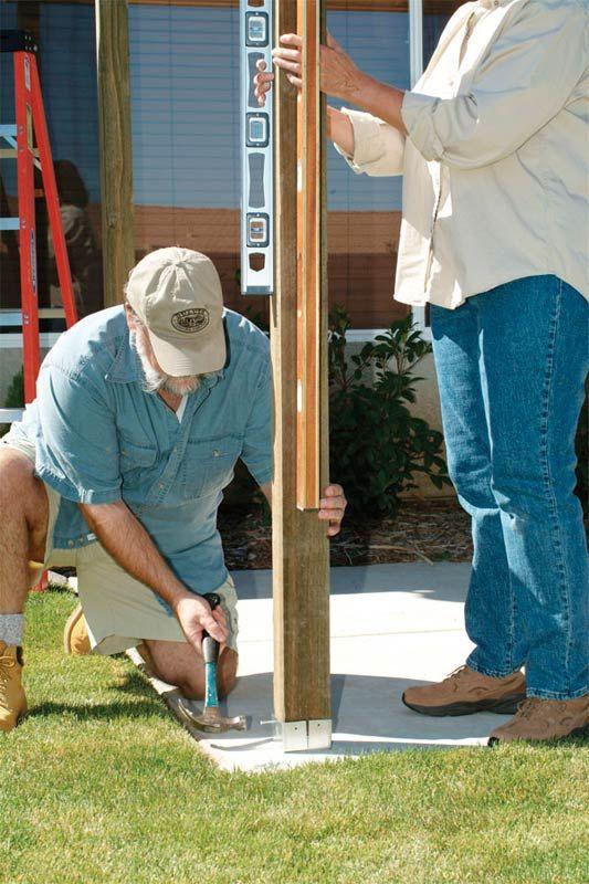 Si est s buscando como hacer una p rgola de madera paso a - Como hacer pergolas de madera paso a paso ...