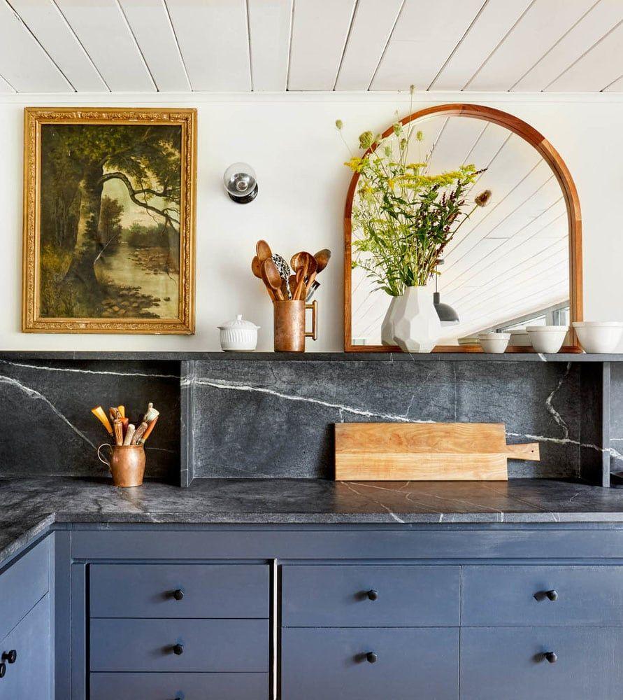 How To Brighten Up A Dark Wood Kitchen How To Decorate With Dark Kitchen Cabinets Kitchen Trends Painting Kitchen Cabinets Dark Kitchen Cabinets