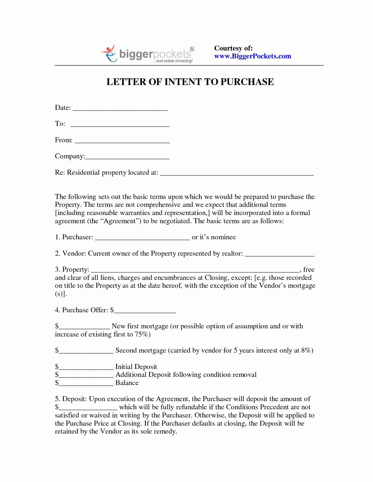 Real Estate Investment Proposal Template In 2020 Letter Of